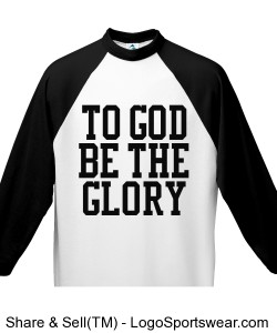 Black and White Youth 3/4 Sleeve 50/50 Raglan Sleeve Shirt Design Zoom