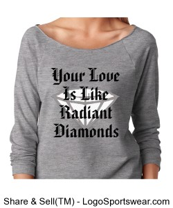 Radiant Ladies French Terry Raglan Design Zoom